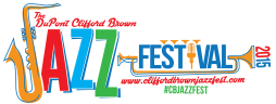 2015 DuPont Clifford Brown Jazz Festival logo