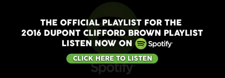 2016 Clifford Brown Jazz Festival Spotify Playlist