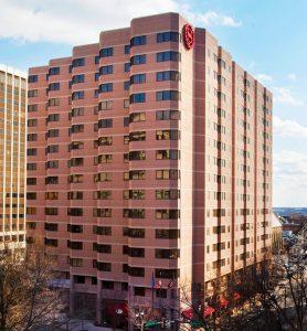Sheraton Suites Wilmington Downtown exterior