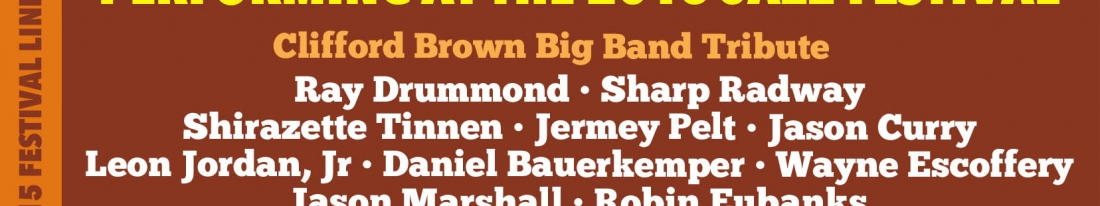 All-Star Tribute Big Band at the 2015 DuPont Clifford Brown Jazz Festival